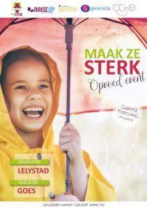 Opvoedevent 'Maak ze sterk' @ Kerkcentrum Het Anker