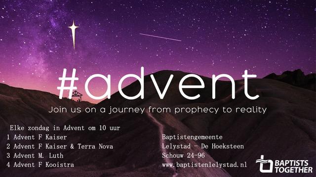 Advent: onderweg naar Kerst