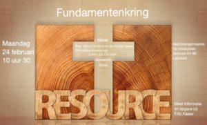 Fundamentenkring @ De Hoeksteen