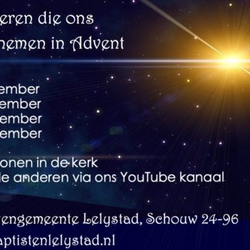 Adventsdiensten rondom bekende liederen